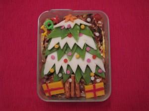 Bento Christmas Tree