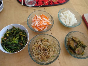 Asian vegetable side dishes